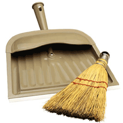 Broom and Dustpan - image